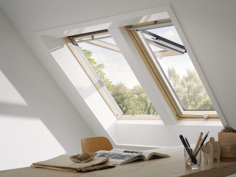 Finestra per tetti VELUX a doppia apertura manuale 3