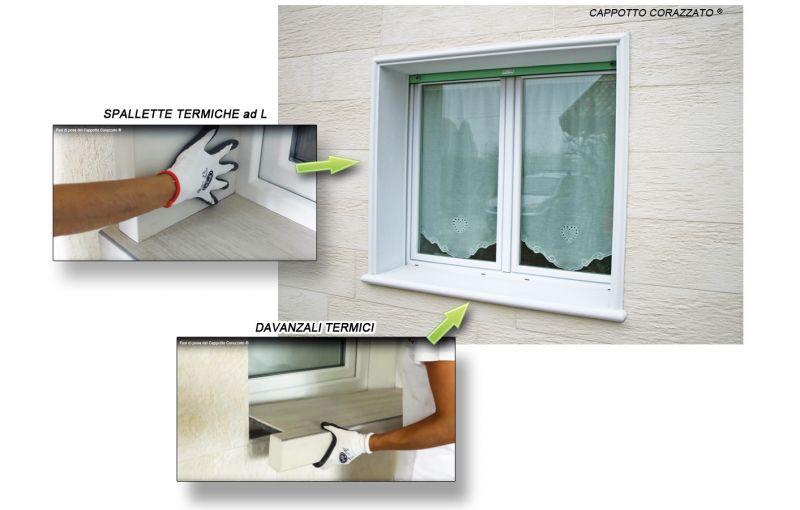 Davanzale termico isolante copri soglia finestra isolamento 1