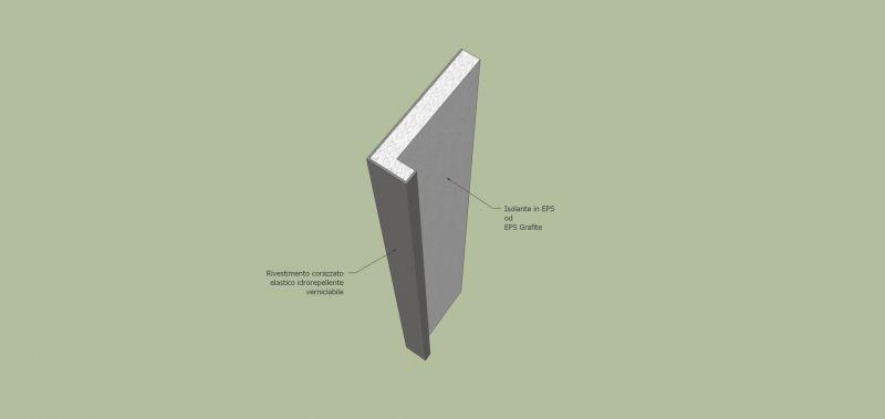 Davanzale termico isolante copri soglia finestra isolamento 10