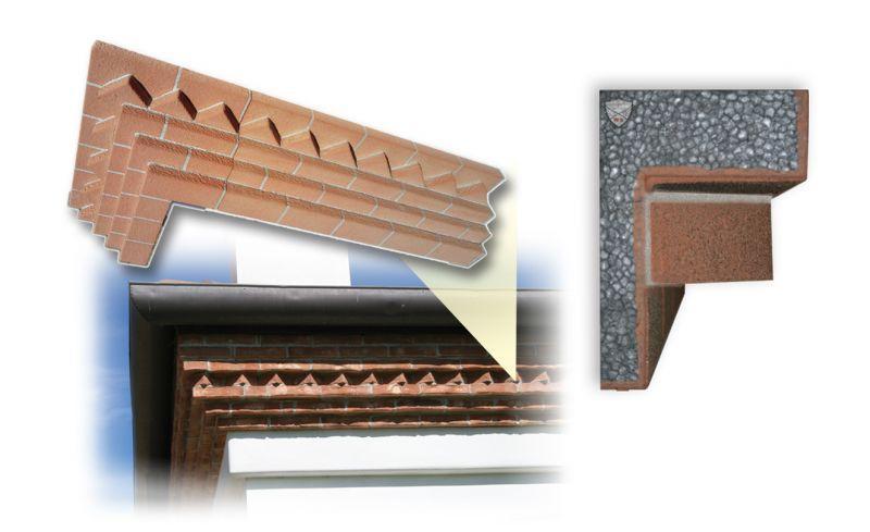 Davanzale termico isolante copri soglia finestra isolamento 11
