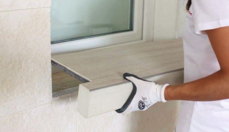 Davanzale termico isolante copri soglia finestra isolamento 3