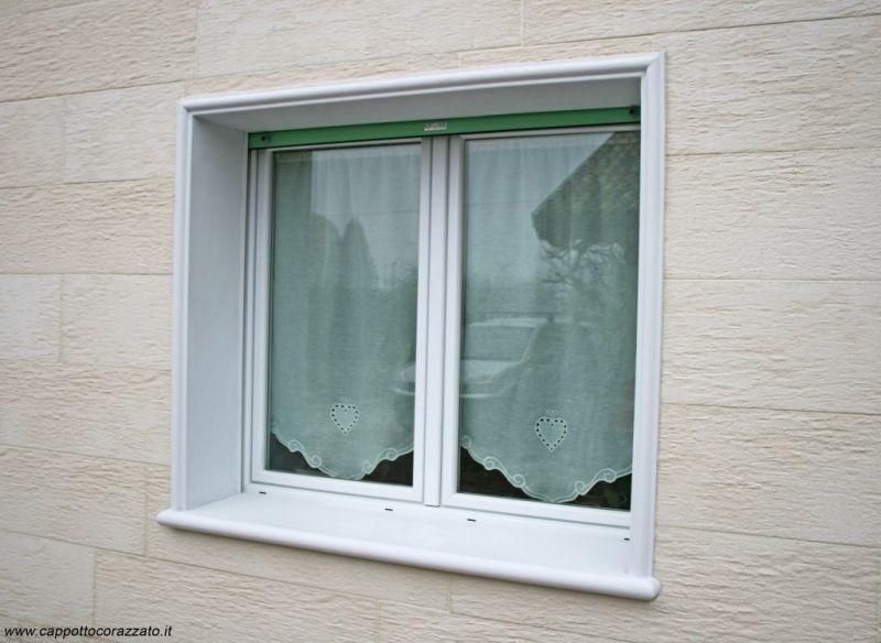 Davanzale termico isolante copri soglia finestra isolamento 5