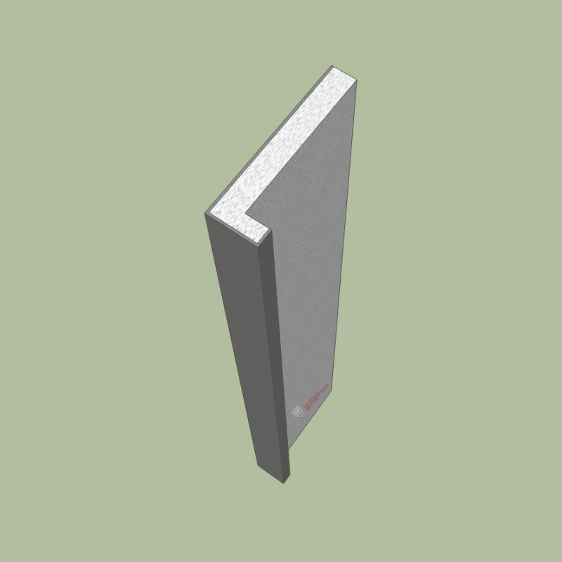 Davanzale termico isolante copri soglia finestra isolamento 7