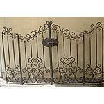 Cancello ferro battuto forgiato a mano