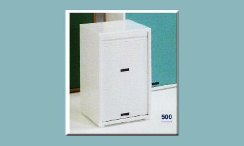 Mobile salvaspazio in pvc REA 500 con serrandina 1
