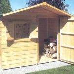 Casetta in legno per giardino