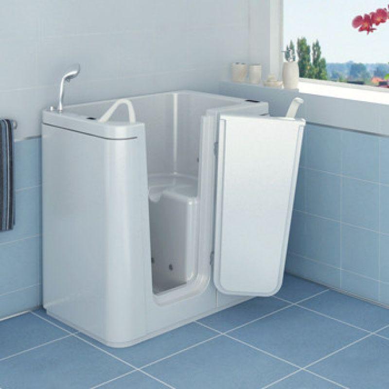Prezzo vasca con sportello tonga per disabili e anziani - Vasca bagno con sportello ...