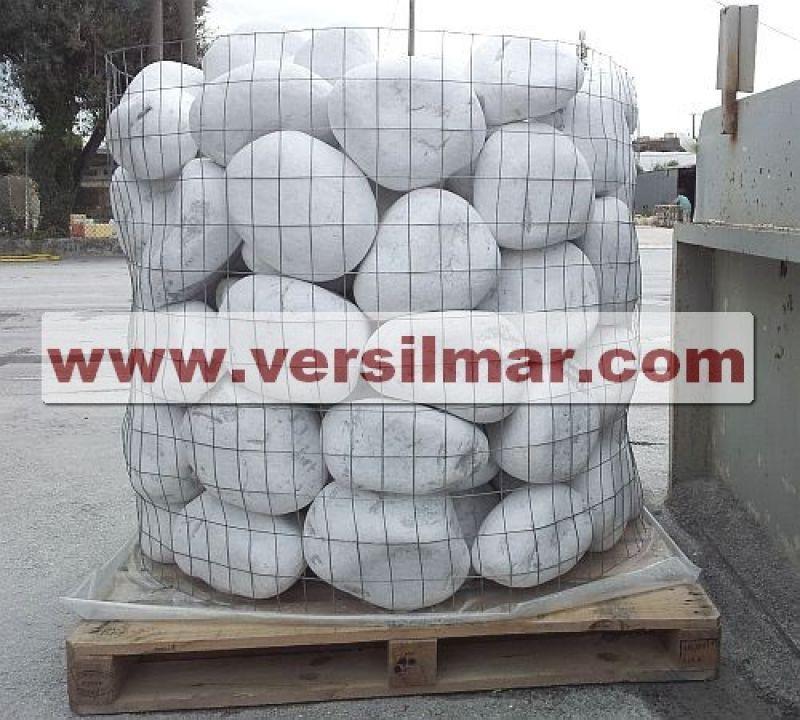 Ciottoli di Bianco Carrara mm. 250-400 1