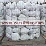 Ciottoli di bianco carrara mm. 150-250