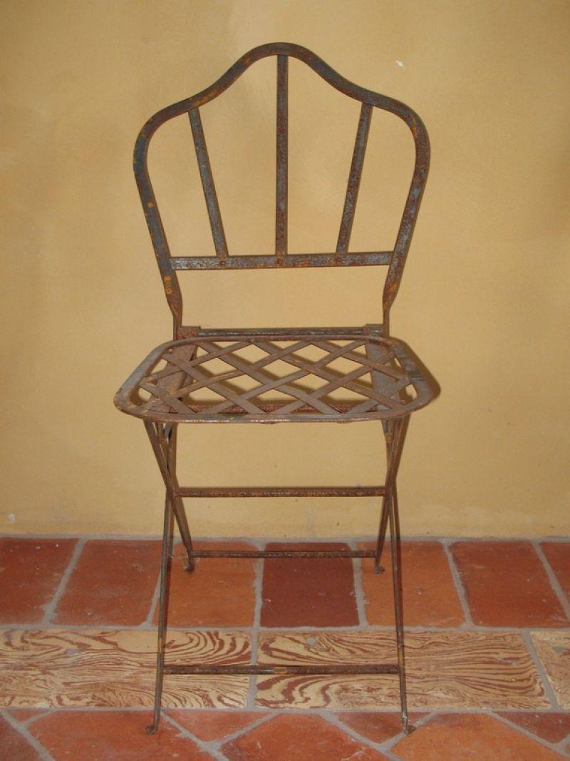 Prezzo: Sedia in ferro battuto da giardino alessandria