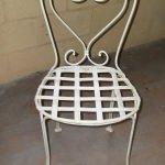 Sedia in ferro battuto da giardino Alessandria