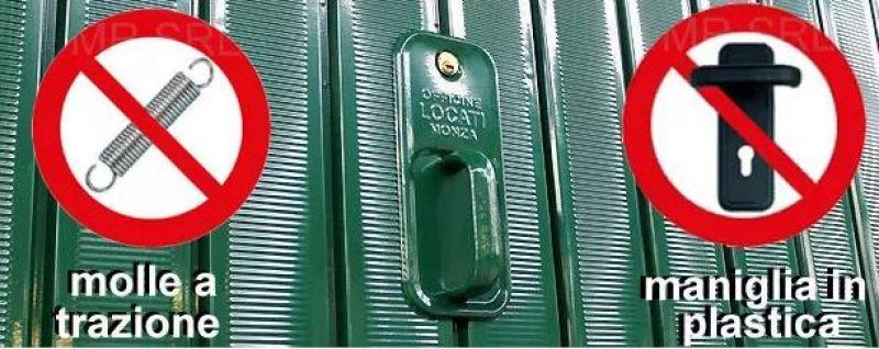 Porta basculante blindata 2