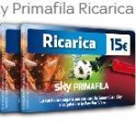 Ricarica primafila sky