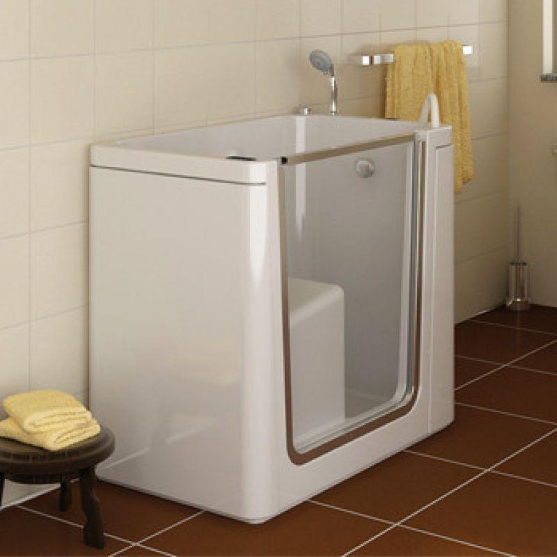 Prezzo vasca itaca con porta laterale per anziani e disabili - Vasche da bagno per disabili prezzi ...