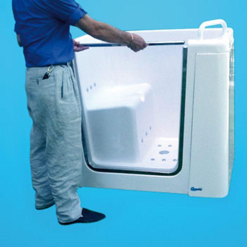 Vasca ITACA con porta laterale per anziani e disabili 5