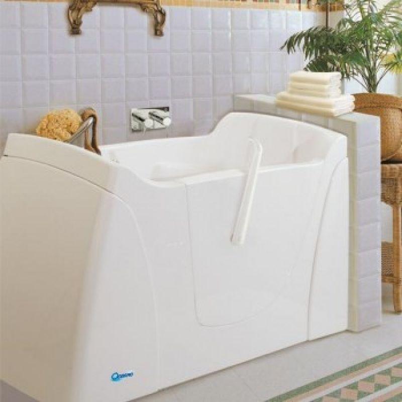 Vasca da bagno CAPRI con sportello e per disabili 4