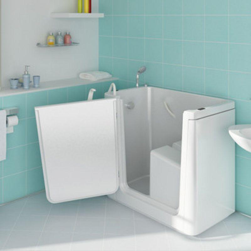 Prezzo vasca con sportello samoa per disabili e anziani - Vasca da bagno con sportello prezzo ...