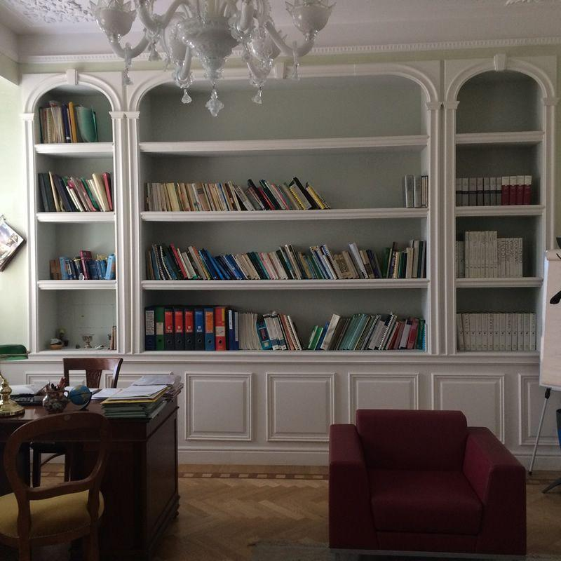 Libreria in cartongesso Milano 2