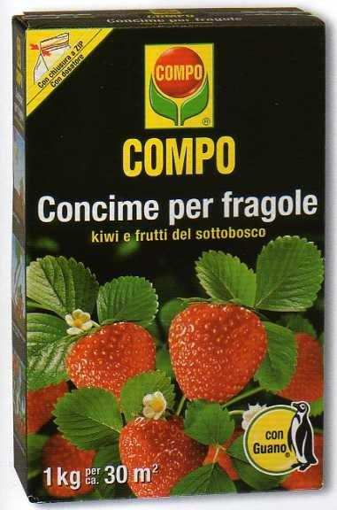 Compo concime granulare per fragole 1 kg 1