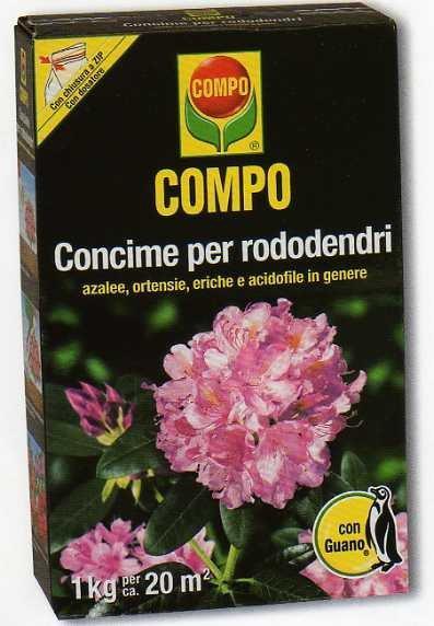 Compo concime granulare per rododendri 1 kg 1