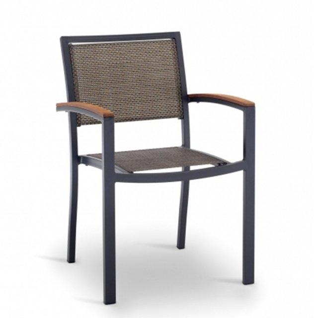 Giacinto: sedia outdoor impilabile - 41816 1