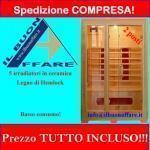 Sauna infrarossi per 2 persone ks-2l