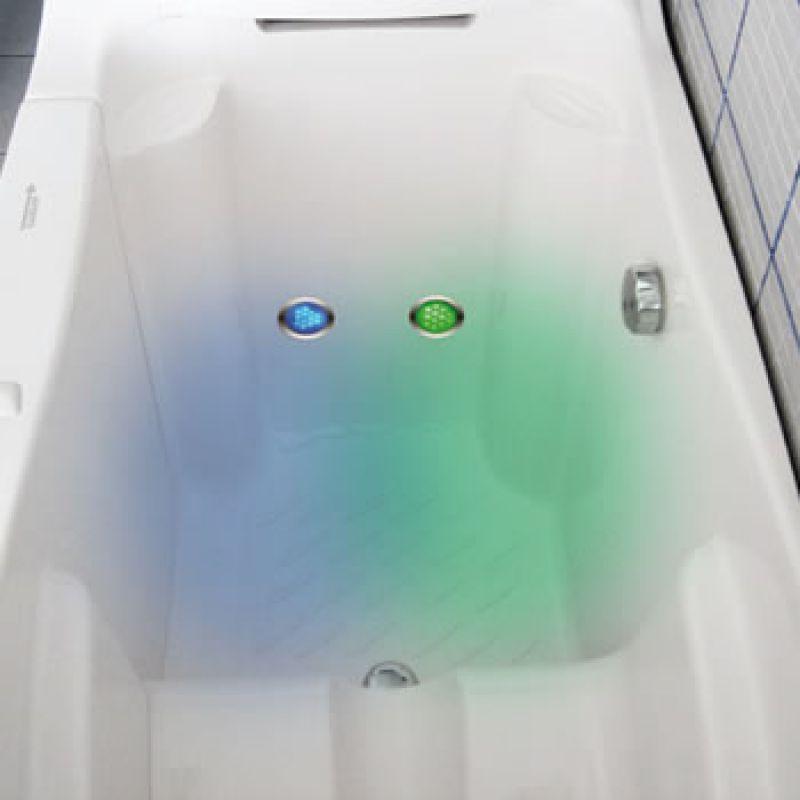 Impianto idromassaggio aria-aria per vasche con porta 2
