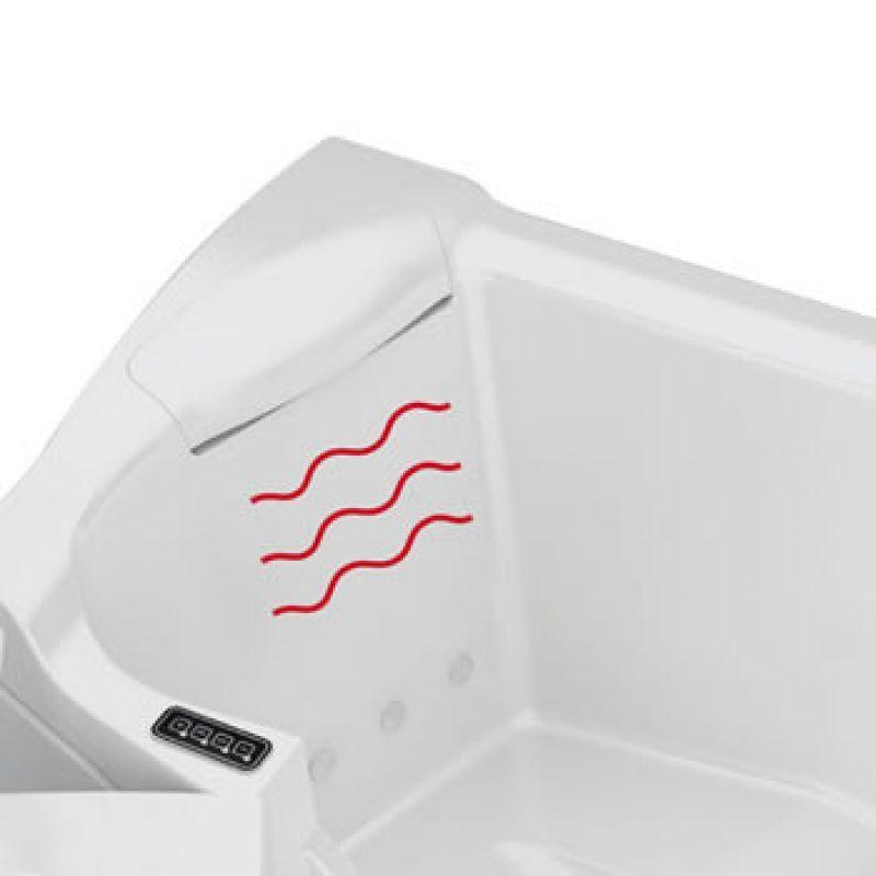 Impianto idromassaggio aria-aria per vasche con porta 5