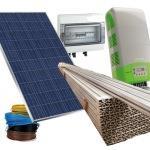 Kit fotovoltaico italiano 3 kw completo