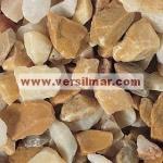 Granulato di giallo siena mm. 9-12