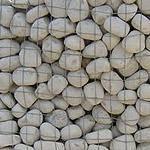 Ciottoli di pietra bianca Marino di Roma