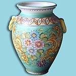 Vaso ceramica ravello