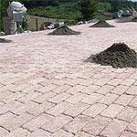 Pavimento a betonella Marino di Roma