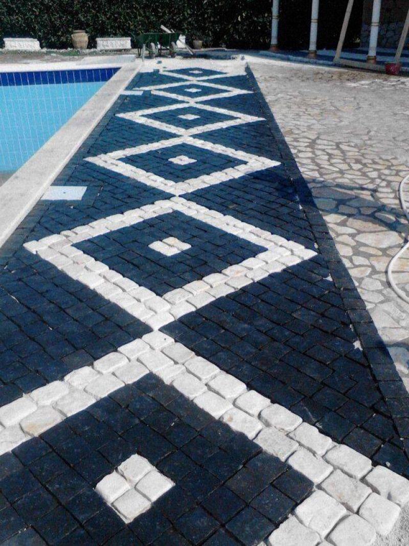 Pavimento a mosaico Marino di Roma 2