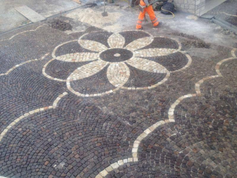 Pavimento a mosaico Marino di Roma 3