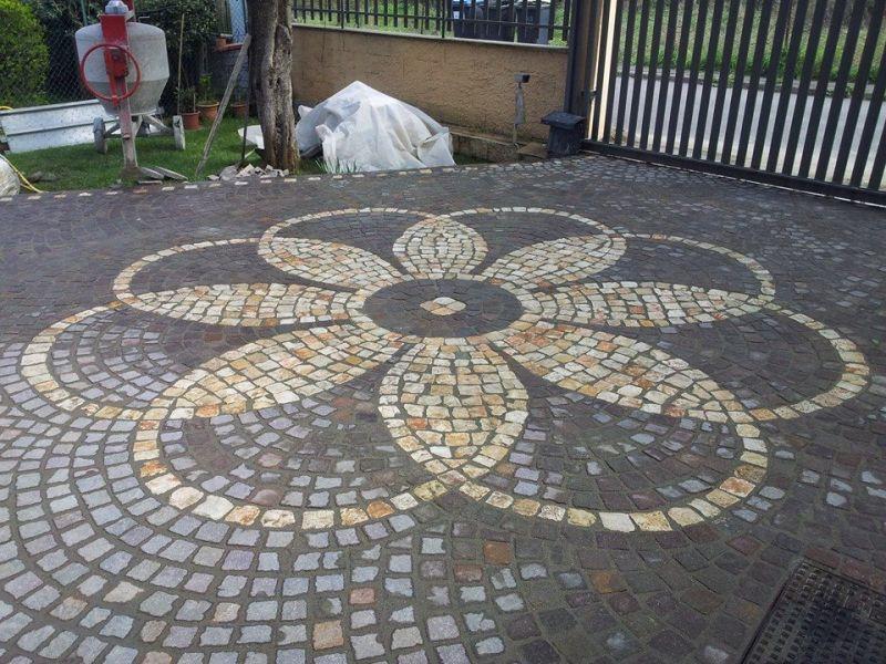 Pavimento a mosaico Marino di Roma 4