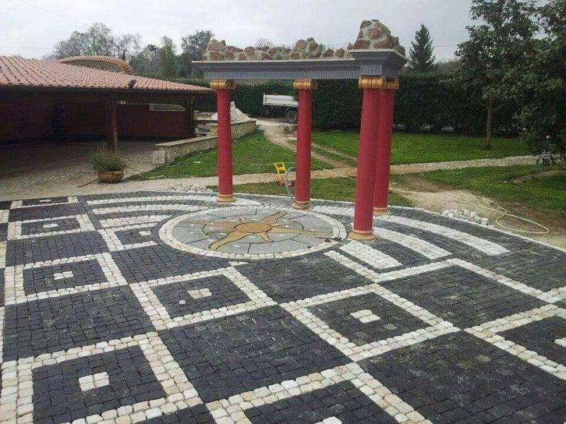 Pavimento a mosaico Marino di Roma 6
