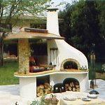 Barbecue con forno