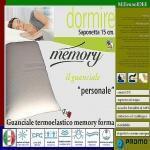 Guanciale saponetta memory forma alto cm 15