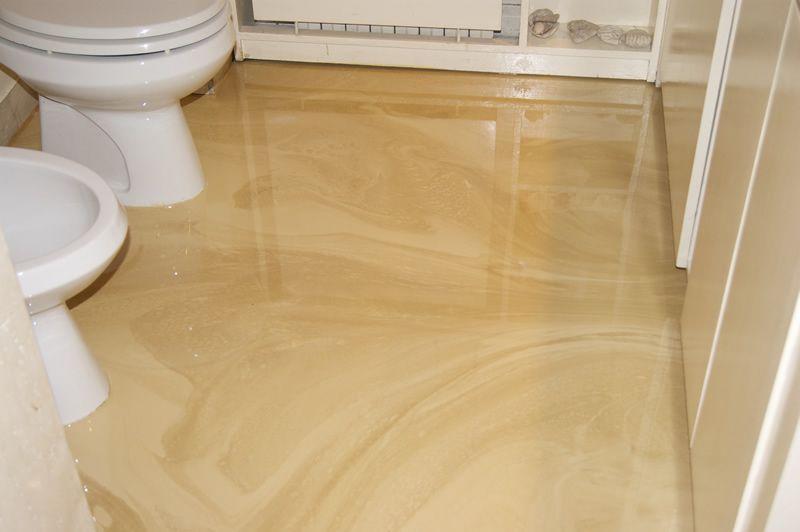 Pavimentazione in resina spatolata a milano 2