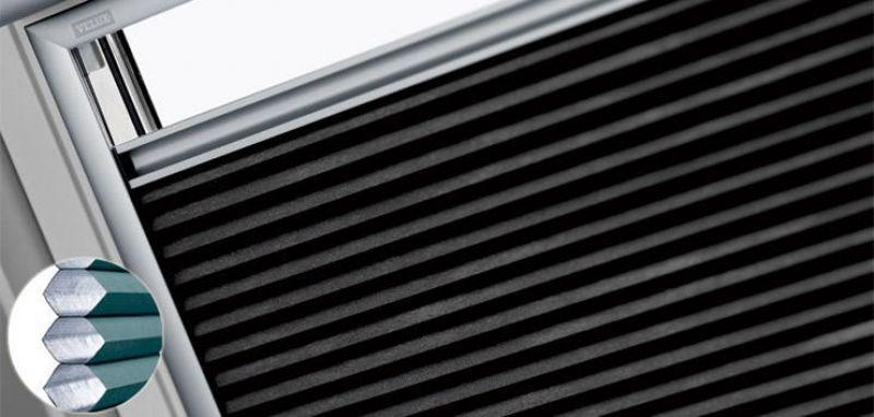 Tenda oscurante plissettata VELUX 1