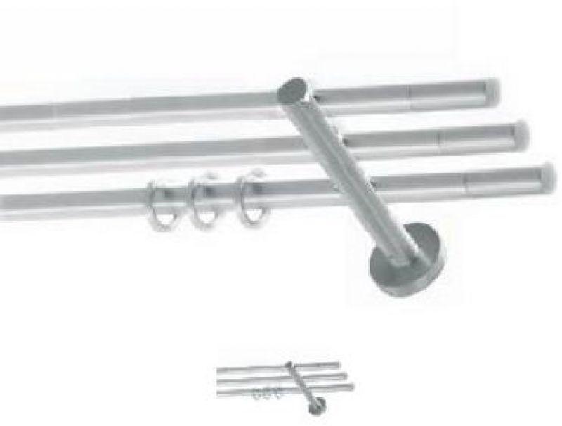 Bastoni scorritenda in acciaio e legno 5