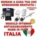 Antifurto Casa Senza Fili Con Centrale Vocale In Italiano Sxafw1 Gsm Sms Con 2 Sensori 50100 Metri Sirena Interna