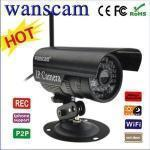 Ip Camera Infrarossi Wireless Wifi Telecamera Esterno Senza Fili Compatibile Apexis Foscam