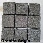 Cubetti granito grigio
