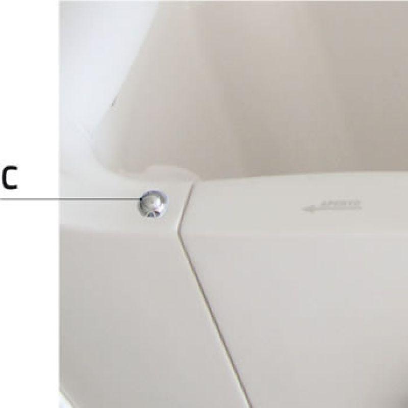 Sicura della porta per vasche di disabili e anziani 1
