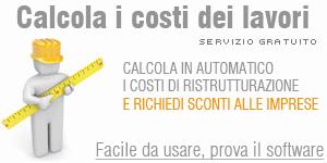 Calcolo costi di ristrutturazione