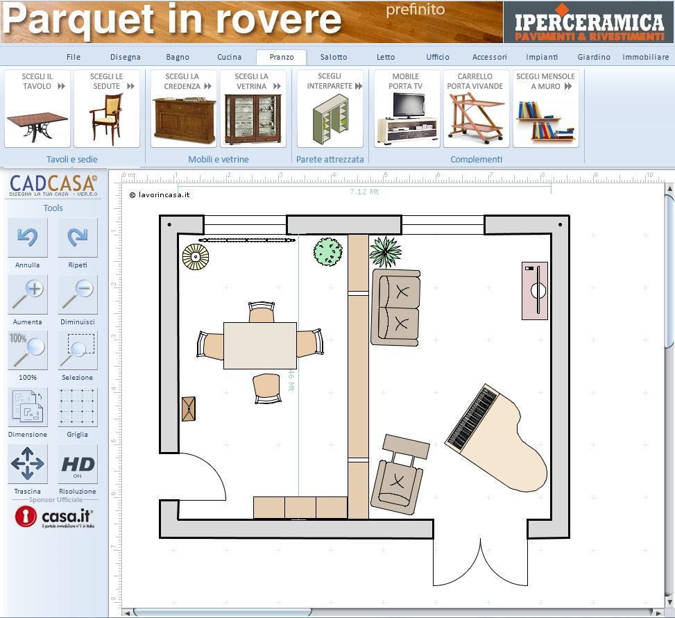 Programma per disegnare casa online scopri cadcasa for Software di progettazione di mobili gratuiti online