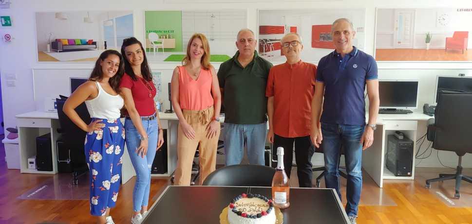 Festeggiamenti in Redazione di Lavorincasa.it