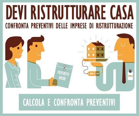 Ricevi preventivi da imprese ristrutturazione